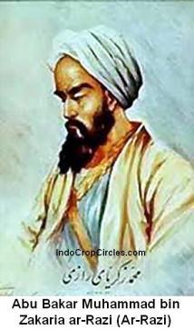 Abu Bakar Muhammad bin Zakaria ar-Razi Ar-Razi