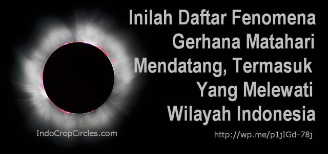daftar gerhana matahari
