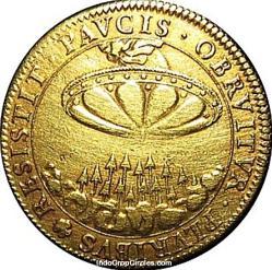 UFo koin kuno perancis 01