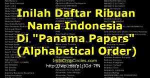 daftar panama papers Indonesia banner