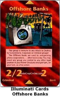 illuminati cards - offshore banks