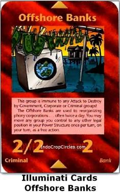 illuminati cards - offshore banks