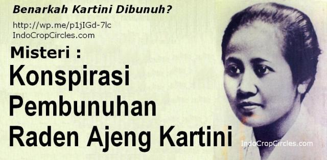 Konspirasi pembunuhan R.A.Kartini banner