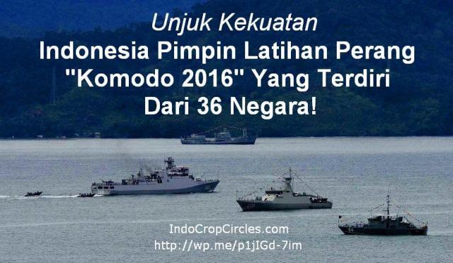 Latihan perang Komodo 2016 Multilateral Naval Exercise Komodo banner
