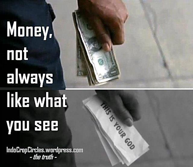 money is your god uang adalah tuhanmu