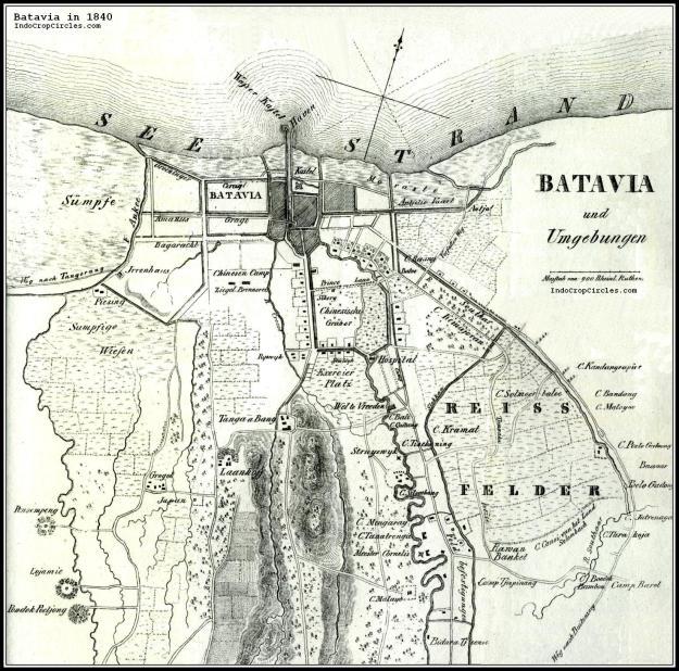 Batavia tahun 1840 setelah era Johannes van den Bosch (TROPEN MUSEUM)
