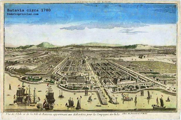 1780 - Batavia circa 1780