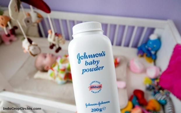 bedak johnson dan bayi