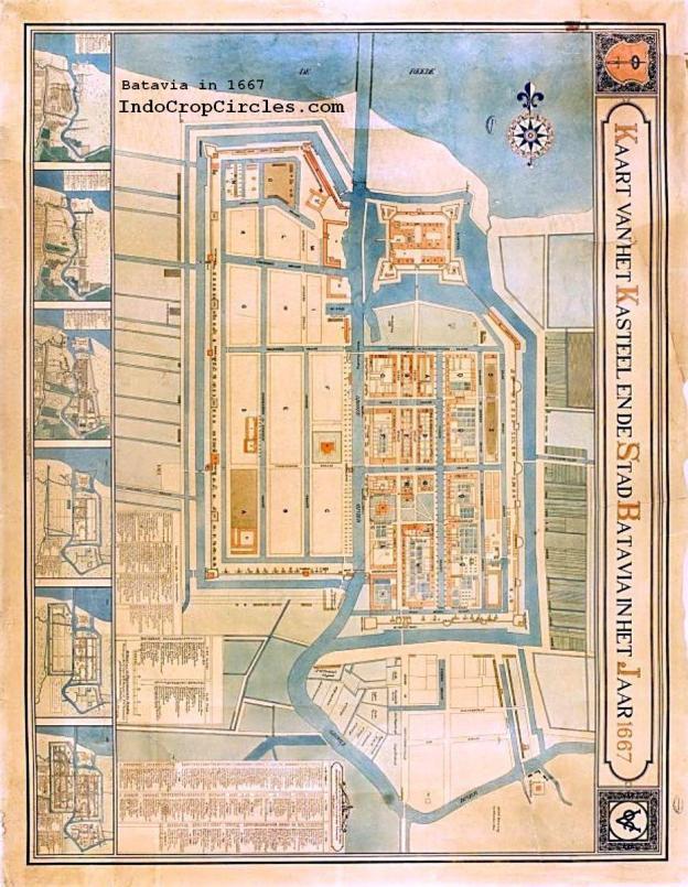 Batavia in 1667 (TROPEN MUSEUM)