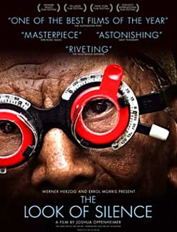 Poster film The Look of Silence (Senyap)