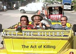 Sebuah screenshot dari film The Act of Killing (Jagal)