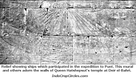 Kapal bercadik firaun mesir menuju ke negeri Punt