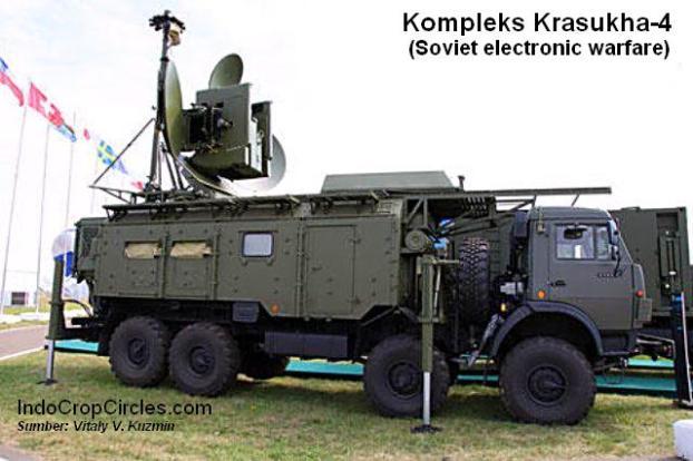 Kompleks Krasukha-4. Sumber: Vitaly V. Kuzmin
