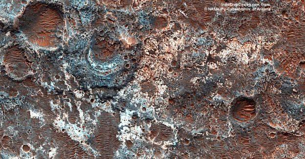 Mars surface permukaan mars 02