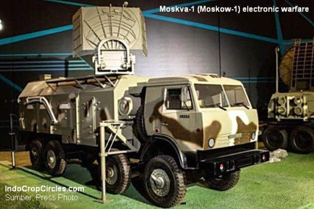 Moskva-1 dapat 'melihat' semua target yang terbang di angkasa pada jarak empat ratus kilometer. (Sumber: Press Photo)