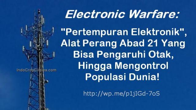 Perang Electronic Warfare Pertempuran Elektronik banner