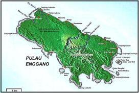 peta pulau enggano map