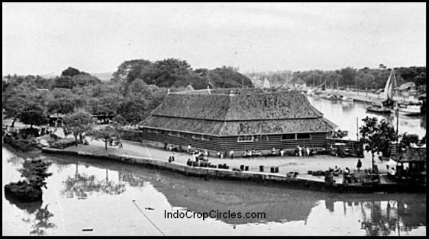 Suasana kawasan Pasar Ikan Tahun 1940.