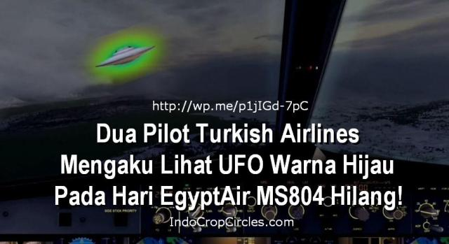UFO with green lights passed over our plane, say Turkish pilots Banner
