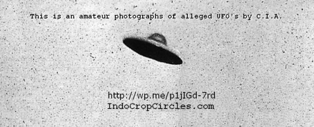alleged UFO by CIA header