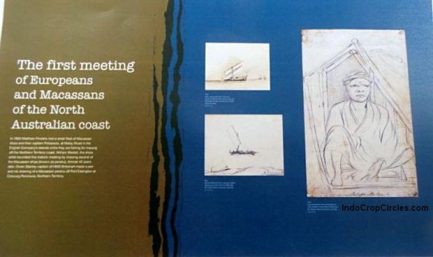 Buku orang Eropa tentang pertemuan pertama mereka dengan Suku Makassar di pantai utara Australia.