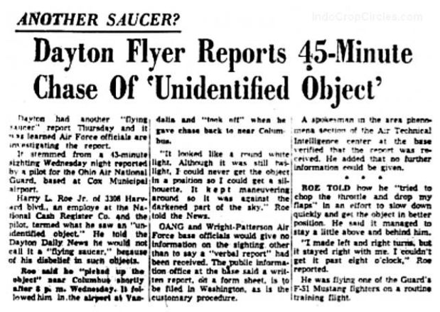 Dayton-Flyer-Reports-45-Minute-Chase-of-Unidentified-Flying-Object-Dayton-Daily-News-6-24-1954