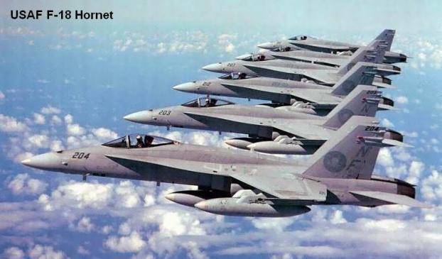 F/A 18 Hornet milik USAF