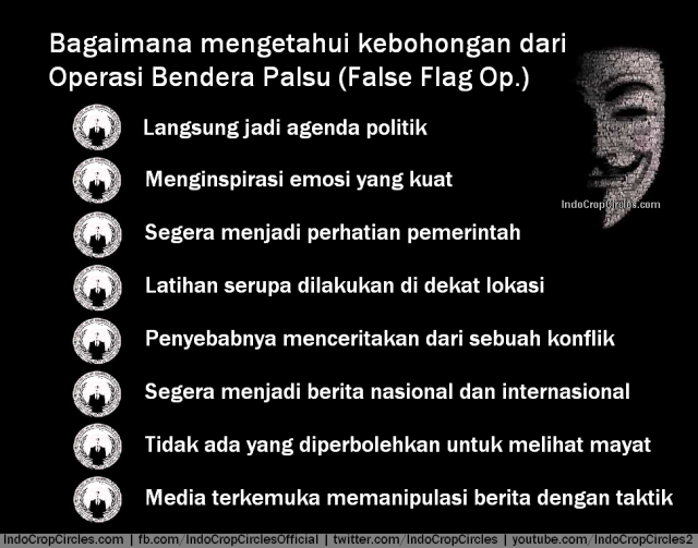 how to spot false flag op bendera palsu false flag op
