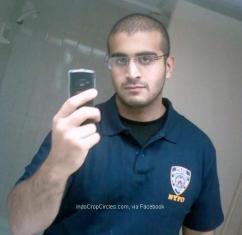 Omar Mateen NYPD shirt