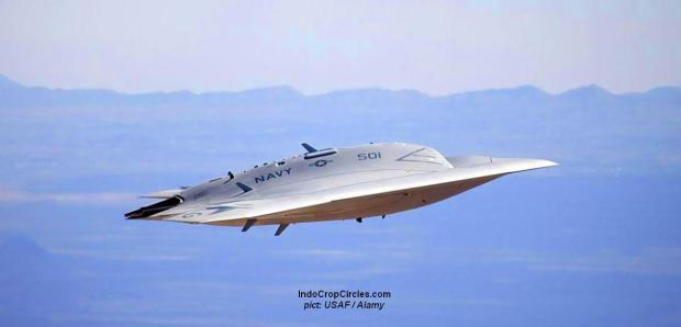 pesawat militer AS yang mirip UFO