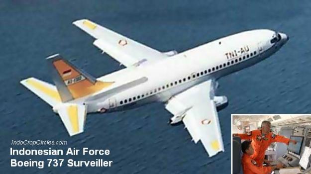 Pesawat intai Boeing 737 Surveiller TNI-AU