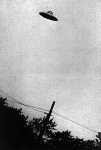 UFO alleged picture taken by George Stock in 1952 by the US intelligence agency (CIA)