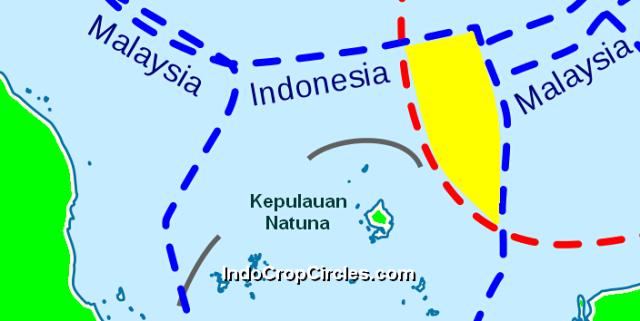ZEE kepulauan natuna dan nine dashed line