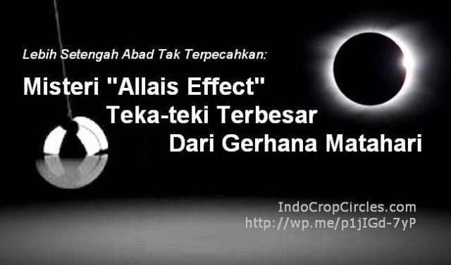 Allais effect pendulum-solar eclipse banner