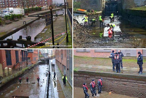 "Para petugas kepolisian di Manchester sedang menyelidiki kasus kematian di ""kanal kematian Manchester""."