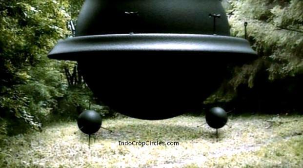 Foto illustrasi. Seperti inilah kira-kira benda terbang tak dikenal menurut gambaran Robert