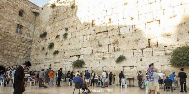 Tembok Ratapan, Jerusalem