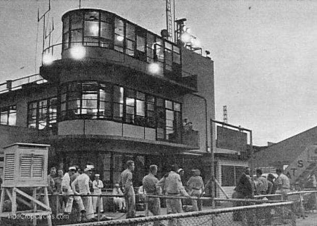 Tokyo International Airport pada tahun 1950an