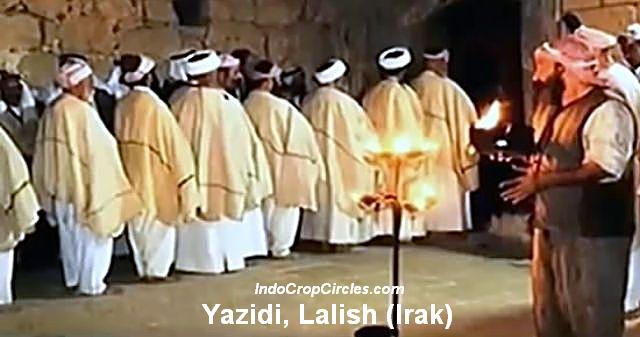Yazidi Lalish Irak satanisme