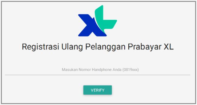 Klik Registrasi Sim Card Melalui Internet Online Mysterious